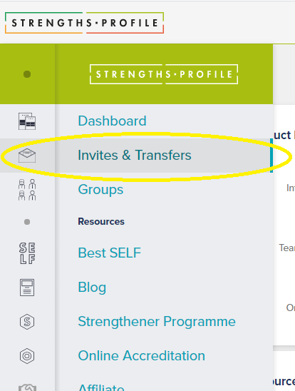 Transfers and Invites